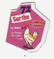 Magnet Le Gaulois 72 - Sarthe - Advertising