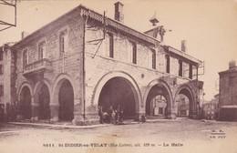 H4 - 43 - St-Didier-en-Velay - Haute-Loire - La Halle - N° 8611 - Saint Didier En Velay