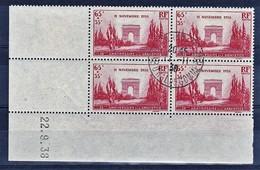 France CD YT 403 Armistice Oblit Paris Tribunal Commerce 11/11/38 - Angoli Datati