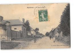 CPA 80 Agnieres Rue Du Haut - France