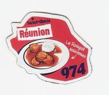 Magnet Le Gaulois 974 - Reunion - Advertising
