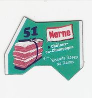 Magnet Le Gaulois 51 - Marne - Advertising