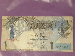 Qatar 1 Riyal 2003 P20 Circulé - Qatar