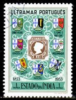 !■■■■■ds■■ India 1953 AF#434ø Centenary Of The Stamp Set (x4974) - Portuguese India