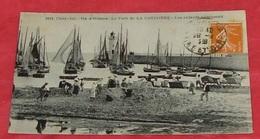 17 - Ile D'Oléron - Le Port De La Cotinière - Les Enfants S'amusent ::: Animation - Bateaux - Voiliers  ------------ 458 - Ile D'Oléron