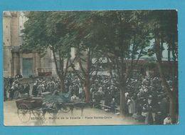 CPA Toilée - Marché De La Volaille Place Sainte-Croix BERNAY 27 - Bernay