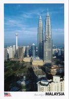 1 AK Malaysia * Kuala Lumpur - Die Petronas Towers Mit 452 M Die Höchsten Zwillingstürme Der Welt * - Malaysia