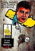 CPM Russie Russia Satirique Caricature Poutine Tirage Limité En 30 Exemplaires Numérotés Signés - Russie