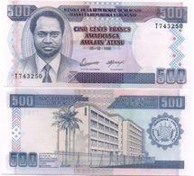 Burundi - 500 Francs 1995 UNC Ukr-OP - Burundi