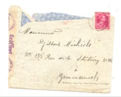 Enveloppe à Destination De Gemmenich 1941 - Contrôle Par La Censure Allemande - Guerre 40/45 - Cachet, Marcophilie - Postmark Collection