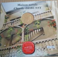 JETON TOURISTIQUE ENCART N°209/300 - MAISON NATALE CLAUDE DEBUSSY - Monnaie De Paris