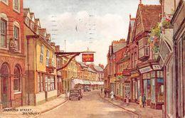 "07607 ""INGHILTERRA -OXFORDSHIRE - BANBURY - PARSONS STREET"" ANIMATA, AUTO, CART  SPED 1952 - Inghilterra"