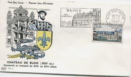 BLOIS (Yv. N° 1255) 1er Jour; Flamme  SECAP Concordante / 1960 - FDC