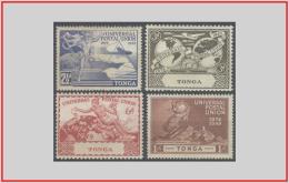 Tonga 1949 - Cat. 87/90 (MNH **) Unione Postale Universale UPU - Universal Postal Union (010593) - Tonga (...-1970)