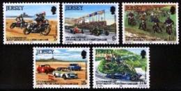 JERSEY, 1980, Mint Never Hinged Stamp(s), Jersey Motor Cycle , 223-227,   , M4247 - Jersey