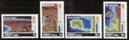 JERSEY, 1982, Mint Never Hinged Stamp(s), Europa , 278-281,   , M4256 - Jersey