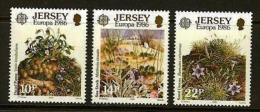 JERSEY, 1986, Mint Never Hinged Stamp(s), Europa Conservation, 378-380  , M4292 - Jersey