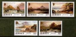 JERSEY, 1989, Mint Never Hinged Stamp(s), Sarah Louisa Kilpack, 496-500, M4306 - Jersey
