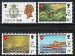 ISLE OF MAN, 1974, Mint Never Hinged Stamp(s), William Hillary, 36-39, M4806 - Isle Of Man