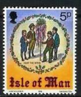ISLE OF MAN, 1978, Mint Never Hinged Stamp(s), Christmas, 137, M4828 - Isle Of Man