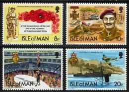 ISLE OF MAN, 1981, Mint Never Hinged Stamp(s), Royal British Legion 196-199 M4847 - Isle Of Man