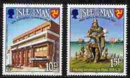ISLE OF MAN, 1983 Mint Never Hinged Stamp(s), World Communication Year, 246-247 M4857 - Isle Of Man