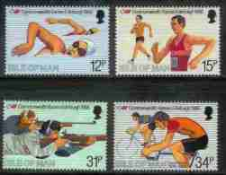 ISLE OF MAN, 1986, Mint Never Hinged Stamp(s), Commonwealth Games , 298-301, M4870 - Isle Of Man