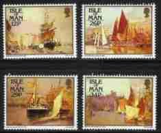 ISLE OF MAN, 1987, Mint Never Hinged Stamp(s), John Miller Nicolson Paintings , 331-334, M4879 - Isle Of Man