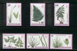 ASCENSION, 1980, Mint Never Hinged Stamp(s), Ferns And Grasses, 253-258, M2062 - Ascension