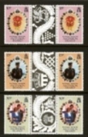 ASCENSION, 1981, Mint Never Hinged Stamp(s), Wedding Diana & Charles, Block 299-301, M7341 - Ascension