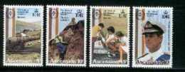 ASCENSION, 1981, Mint Never Hinged Stamp(s), Duke Of Edinburgh, 302-305, M2071 - Ascension