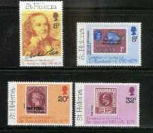 ST. HELENA, 1979, Mint Never Hinged Stamp(s), Sir Rowland Hill, 317-320, M2026 - Saint Helena Island