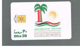 EMIRATI ARABI UNITI (UNITED ARAB EMIRATES) - 1997 ENVIRONMENT DAY     - USED -  RIF.  10431 - United Arab Emirates