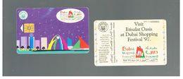 EMIRATI ARABI UNITI (UNITED ARAB EMIRATES) - 1997 DUBAI SHOPPING FESTIVAL     - USED -  RIF.  10432 - United Arab Emirates