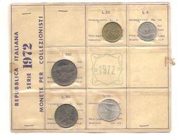 Italia - Serie Annuale In Confezione FDC 5 Monete - 1972 - 1946-… : Repubblica