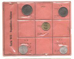 Italia - Serie Annuale In Confezione FDC 5 Monete - 1973 - 1946-… : Repubblica