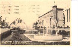 Bruxelles - CPA - Brussel - Les Fontaines De L'allée Du Centenaire - Lanen, Boulevards