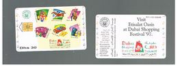 EMIRATI ARABI UNITI (UNITED ARAB EMIRATES) -1997 DUBAI SHOPPING FESTIVAL - USED - RIF.  10441 - United Arab Emirates