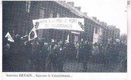 Le 22decembre  30000  Manifestants  Pour La Defense  De L Emploi  Dans Le Valenciennois   Cpm    TBE - Valenciennes