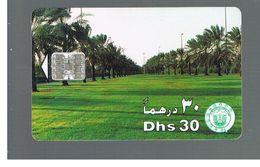 EMIRATI ARABI UNITI (UNITED ARAB EMIRATES)  -1996 PALM TREE AVENUE - USED - RIF.  10442 - Emirati Arabi Uniti