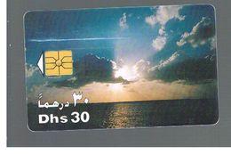 EMIRATI ARABI UNITI (UNITED ARAB EMIRATES)  -1997 SUNRISE OVER SEA - USED - RIF.  10443 - United Arab Emirates