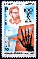 EGYPT EGYPTE 1995 1v MNH** Wilhelmm Roentgen Discovery Of The X-Ray Medicine Health Santé Gesundheit Salud - Medicina