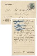 Lutterbach 11.3.1913 Por Soultz Entête: Cement- Und Baugeschäft Gebr. Oesterle - Alsace-Lorraine
