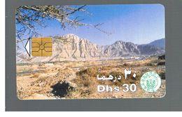 EMIRATI ARABI UNITI (UNITED ARAB EMIRATES)  -1995 HATTA MOUNTAIN RANGE - USED - RIF.  10443 - United Arab Emirates