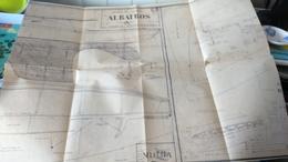 """PLAN VOILIER DE COURSE """"albatros""""   (long 0,98m - Larg 0,24 - Poids 3kg750 - Surface Voilure 39dm2) - Modelbouw"""