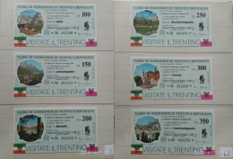 Cassa Risparmio Trento Rovereto - San Martino Di Castrozza - - [10] Assegni E Miniassegni