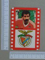 BENFICA   1990 - CHALANA - FUTEBOL -  2 SCANS  - (Nº10670) - Big : 1981-90
