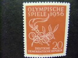 ALLEMAGNE ORIENTALE DDR 1956 JEUX OLIMPIQUES DE MELBURNE Yvert 267 ** MNH - [6] República Democrática