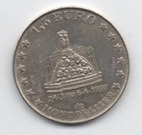1,5 Euro De Montpellier 24/3 Au 6/4/1997 - Euros Of The Cities