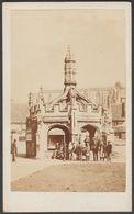 Market Cross, Malmesbury, Wiltshire, C.1880 - William Hanks CDV - Places